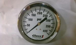 "Class 1-3.5"" Gauge - Liquid filled"